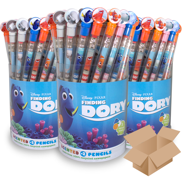 Disney•Pixar Finding Dory: Case of 10 Smencils Bucketsk